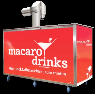 macarodrinks die Cocktailmaschine zum Mieten